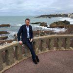 Sur le plateau de l'Attalaye à Biarritz