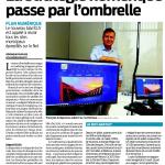 La stratégie numérique passe l'ombrelle - Sud Ouest 07/11/16