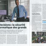 IS Decisions : la sécurité informatique des grands - Le Mag 64 03/2015