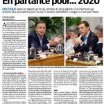 En partance pour ... 2020 - Sud Ouest 21/02/2018